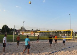 Beachvolleyball Training 2015